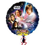 Star Wars Jumbo Sing-A-Tune XL Foil Balloons P75 - 5 PC