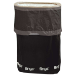 Black Fling Bins - 5 PKG
