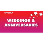 Weddings & Anniversaries Point of Sale 2ft/61cm x 1ft/30cm - 1 PC