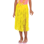 Hawaiian Neon Grass Skirts Child Size 50cm x 55cm - 3 PKG/3
