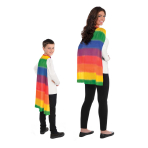 Rainbow Capes One Size Fits All - 6 PC