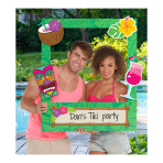 Hawaiian Custom Photo Frames - 3 PKG/15