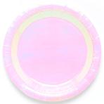Iridescent Paper Plates 23cm - 6 PKG/8
