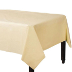 Vanilla Creme Paper Tablecovers 1.37m x 2.74m - 6 PC