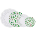 Holly & White Paper Multipack Doilies - 12 PKG/40