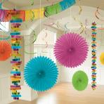 Multi Colour Room Decoration Kits - 6 PKG/18