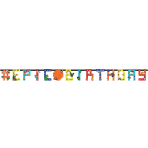 Epic Party Add an Age Jumbo Letter Banners 3.2m - 6 PC
