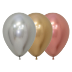 "Reflex Classic Assortment Latex Balloons 12""/30cm - 50 PC"