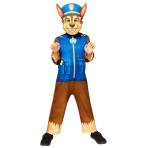 Paw Patrol Chase Costume - Age 3-4 Years- 1 PC