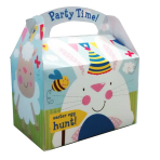 Sheep & Bunny Easter Party Boxes 15cm x 10cm x 17cm - 75 PC