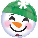 Snowman Emoticon Standard Foil Balloons S40 - 5 PC
