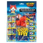 Yo-Kai Watch Mega Value Favour Packs - 6 PKG/48
