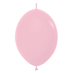 "Fashion Colour Link-O-Loon Solid Pink 009 Latex Balloons 6""/15cm - 100 PC"