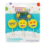 LOL Emoticon Candles - 12 PKG/4