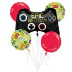 Epic Party Foil Balloon Bouquets P75 - 3 PC