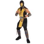 Mortal Kombat Scorpion Costume - Size Large - 1 PC