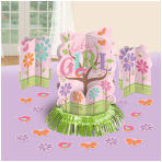 Tweet Baby Girl Table Decorating Kit - 9 PKG