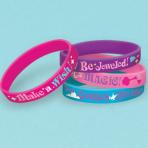 Shimmer & Shine Rubber Bracelets - 6 PKG/6