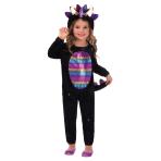 Dazzling Dino Costume - Age 6-8 Years - 1 PC