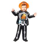 Hey Duggee Skeleton Costume - Age 1-2 Years - 1 PC