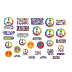 60s Groovy Assorted Cutouts - 12 PKG/30