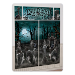 Cemetery Wall Decorating Kits - 6 PKG/5