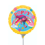 Trolls Poppy Mini Foil Balloons A20 - 5 PC