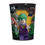 LEGO Batman Movie Plastic Favour Cups 455ml - 12 PC