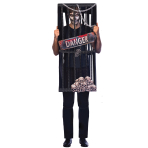 Caged Reaper Costume - Plus Size - 1 PC