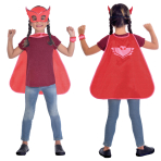 PK Masks Owlette Cape Set - Age 4-8 Years - 1 PC