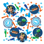 Rusty Rivets Confetti 14g - 6 PC