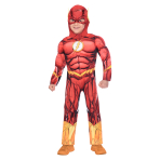 The Flash Costume - Age 10-12 Years - 1 PC