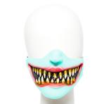 Evil Clown Half Mask - 1 PC