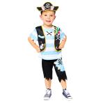 Peppa Pig George Pirate Costume - Age 2-3 Years - 1 PC