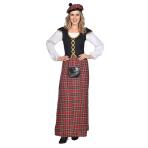 Scottish Lady Costume - Size 8-10 - 1 PC