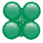 "Metallic Green Large MagicArch Unpackaged Foil Balloons 29.5""/74cm w x 29.5""/74cm h P20 - 5 PC"