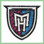 Monster High Crest Logo Body Jewellery Tattoos - 12 PC