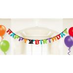 21st Birthday Foil Letter Banners 17cm h - 12 PKG