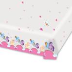 My Little Pony Plastic Tablecovers 1.2m x 1.8m - 10 PKG