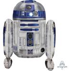 "Star Wars R2 D2 MultiBalloon Foil Balloons 22""/55cm w x 26""/66cm h P40 - 5 PC"