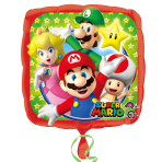 Super Mario Standard Foil Balloons S60 - 5PC