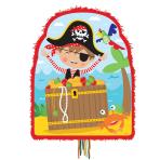 Little Pirate Pull Pinatas - 4 PKG