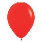 """Fashion Colour Solid Red 015 Latex Balloons 12""""/30cm - 50 PC"""