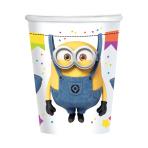 Minions Paper Cups 250ml - 6 PKG/8