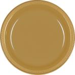 Gold Sparkle Plates 17.7cm - 10 PKG/20