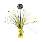 Gold Sparkling Celebration Add an Age Spray Centrepieces 45cm - 6 PC