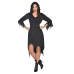 Witch Robe Costume - Size 12-14 - 1 PC