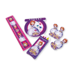 Disney's Sofia the First Stationery Favour Packs - 6 PKG/20