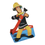 Fireman Sam Stand-up Invites & Envelopes - 10 PKG/8