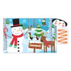 Snowman Pin the Nose Games - 12 PKG/4